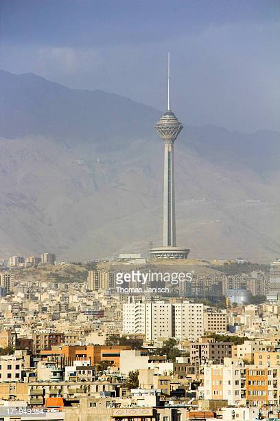 Milad Tower standing tall