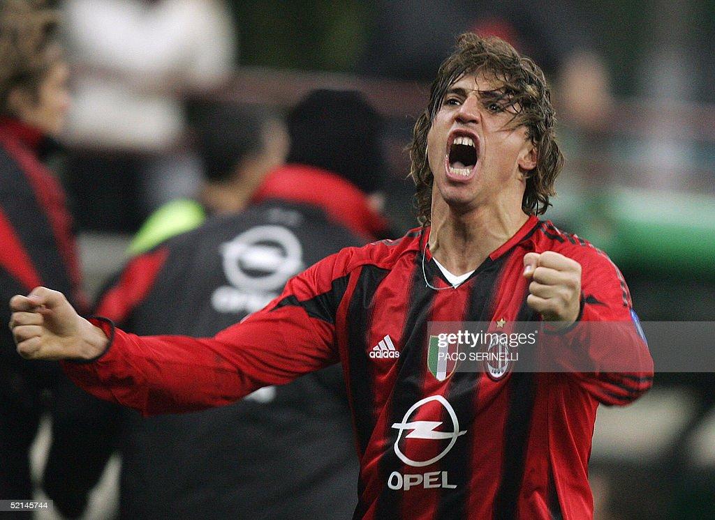 AC Milan Argentinian forward Hernan Cres : News Photo