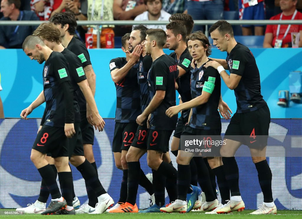 Iceland v Croatia: Group D - 2018 FIFA World Cup Russia : ニュース写真