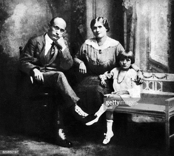 Milan Benito Mussolini and his familyBenito Amilcare Andrea Mussolini was an Italian politician who led the National Fascist Party ruling the country...