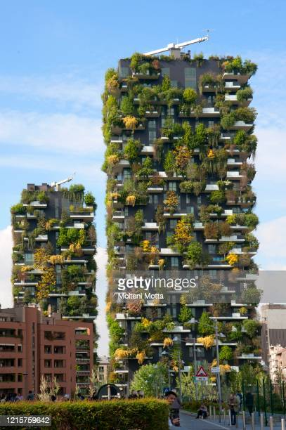 Milan Bosco Verticale, project by architect Stefano Boeri.