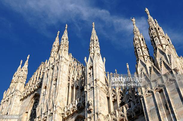 Milan Cathedral in Milan, Italy on January 01 2009 - Milan Cathedral, Duomo di Milano.