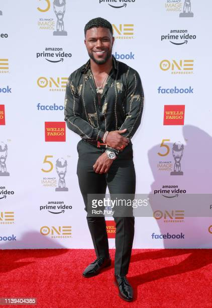 Milan Christopher attends the 50th NAACP Image Awards at Dolby Theatre on March 30 2019 in Hollywood California
