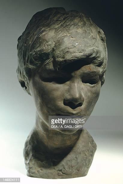 Milan, Civiche Raccolte D'Arte Civico, Museo D'Arte Contemporanea Licco, by Vincenzo Gemito , bronze head.
