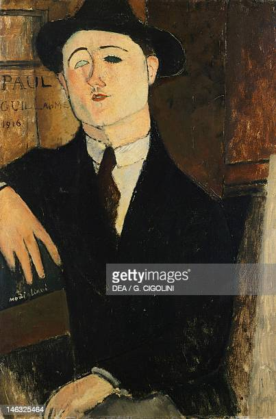 Milan Civiche Raccolte D'Arte Civico Museo D'Arte Contemporanea Paul Guillaume Seated by Amedeo Modigliani