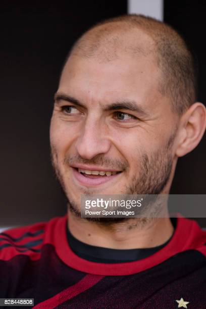 Milan Defender Gabriel Paletta during the 2017 International Champions Cup China match between FC Bayern and AC Milan at Universiade Sports Centre...