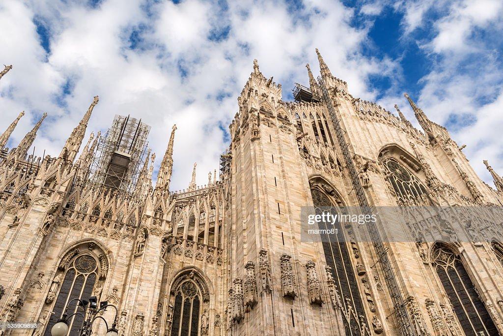 Milan Catedral de : Foto de stock