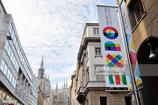Milan Expo 2015 Banner