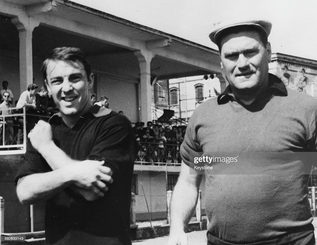 Nereo Rocca And Jimmy Greaves : News Photo