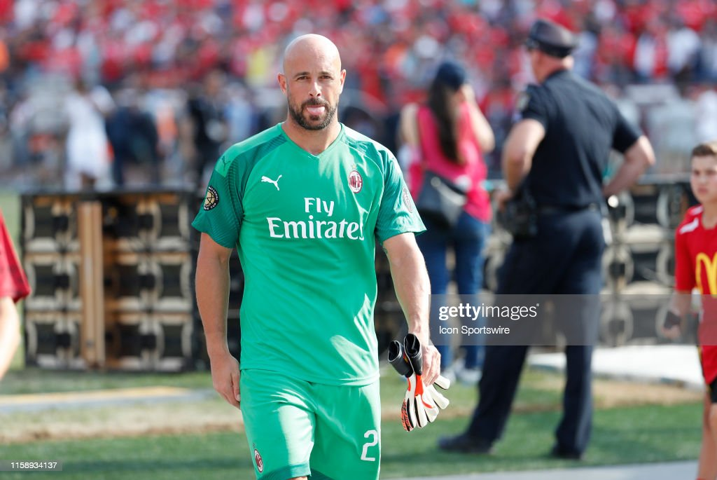 SOCCER: JUL 28 International Champions Cup - AC Milan v Benfica : News Photo