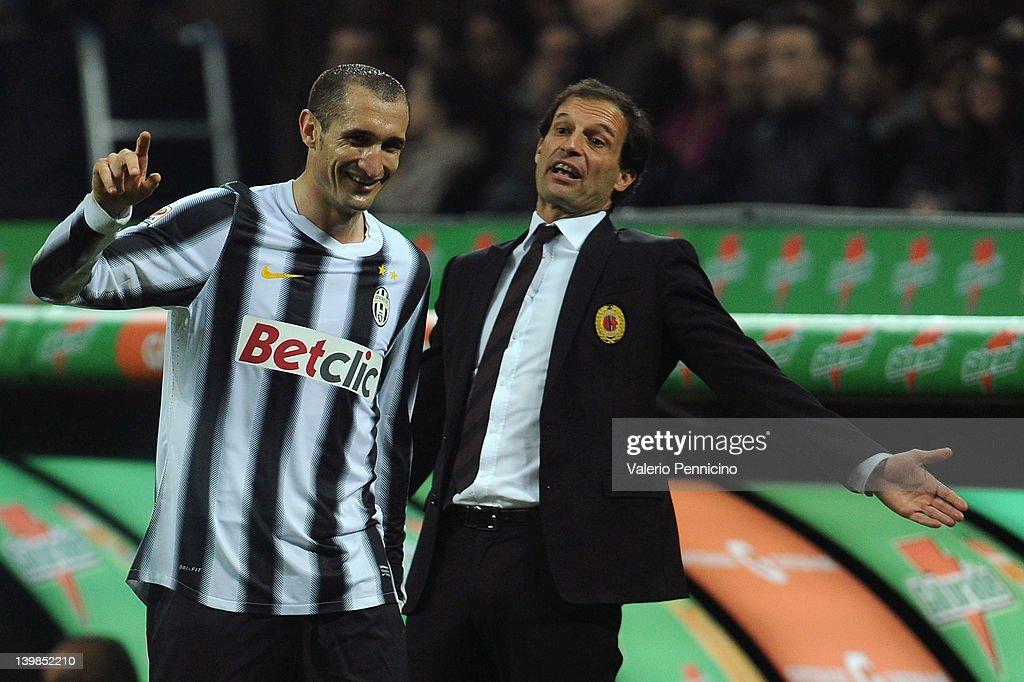 AC Milan v Juventus FC  - Serie A : ニュース写真