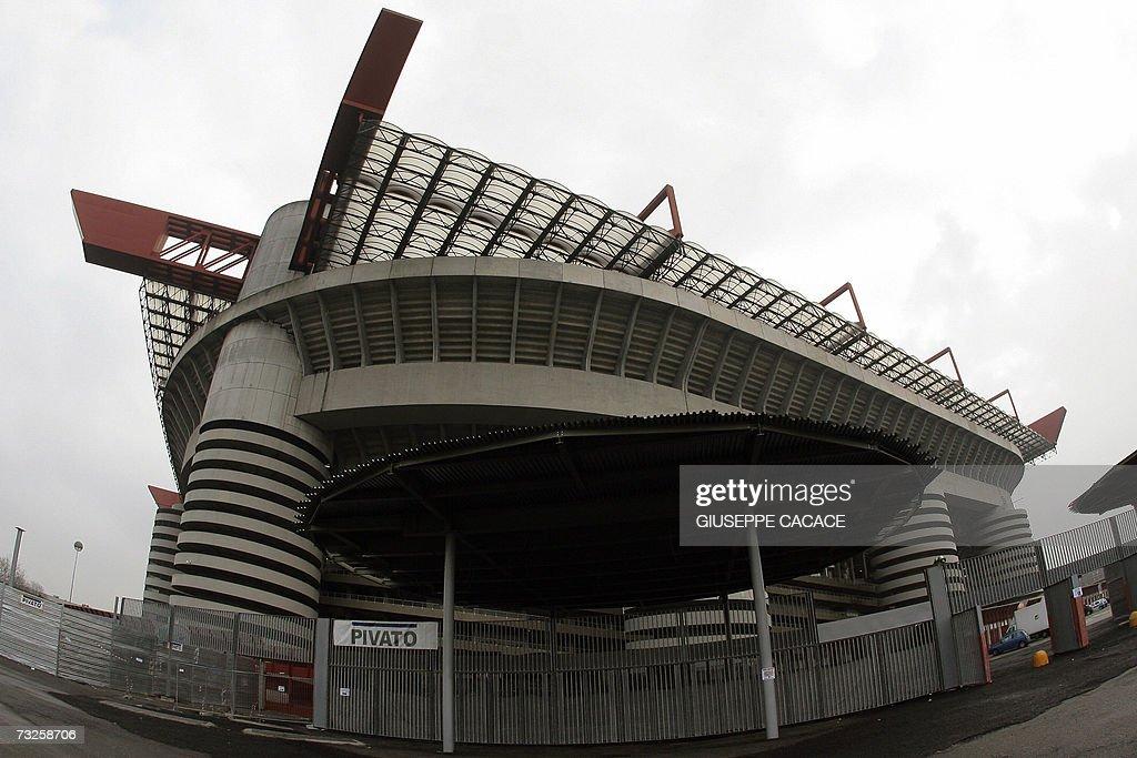 General view of San Siro Stadium, 08 Feb... : News Photo