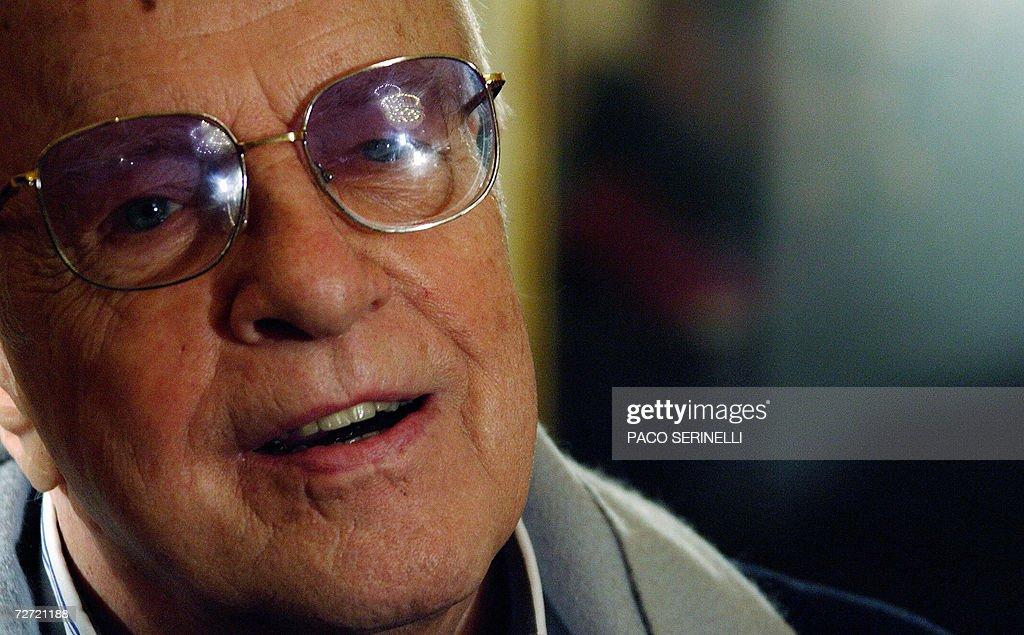 Italian director Franco Zeffirelli gives : News Photo
