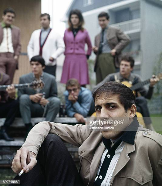 Milan Italy October 12 1965 The singer Adriano Celentano with his clan Adriano Celentano is a singersongwriter dancer television host actor director...