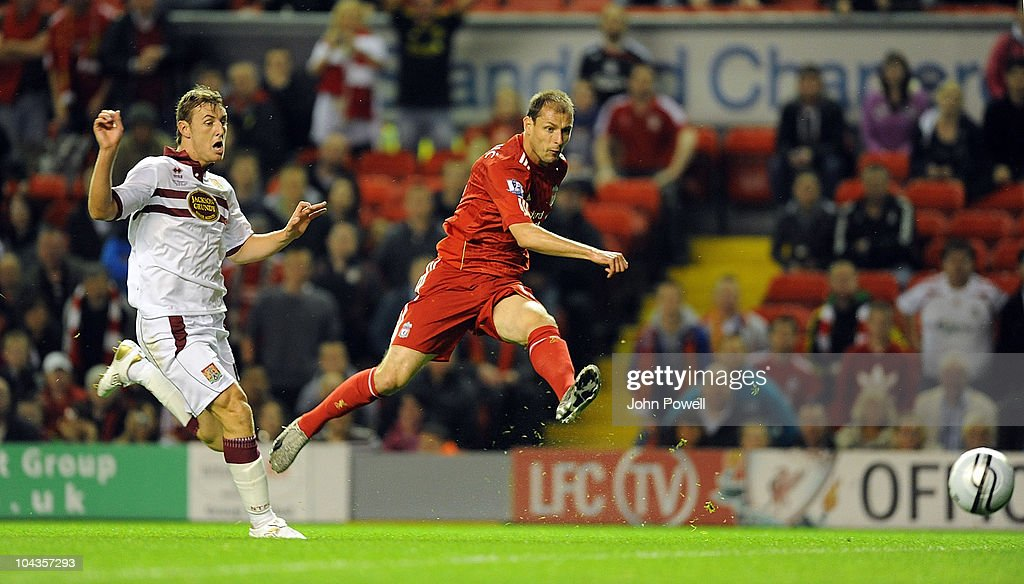 Liverpool v Northampton Town - Carling Cup 3rd Round