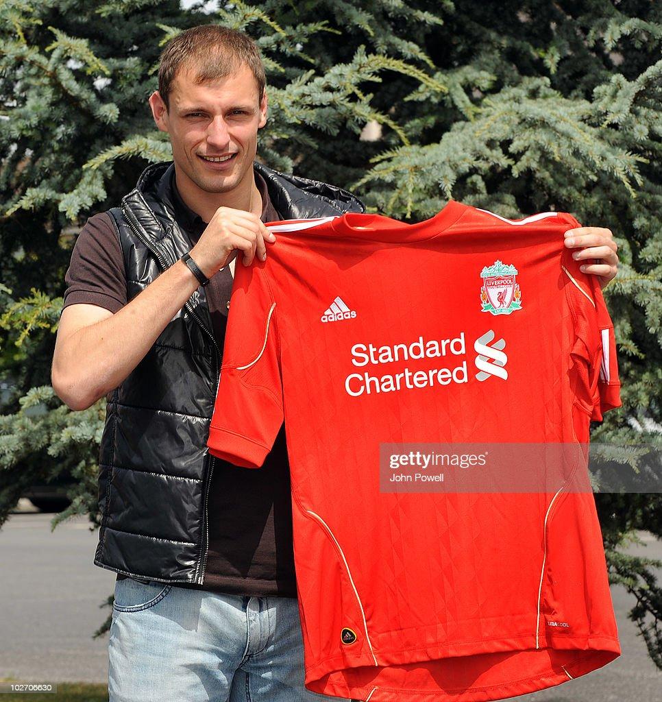 Liverpool Sign Milan Jovanovic