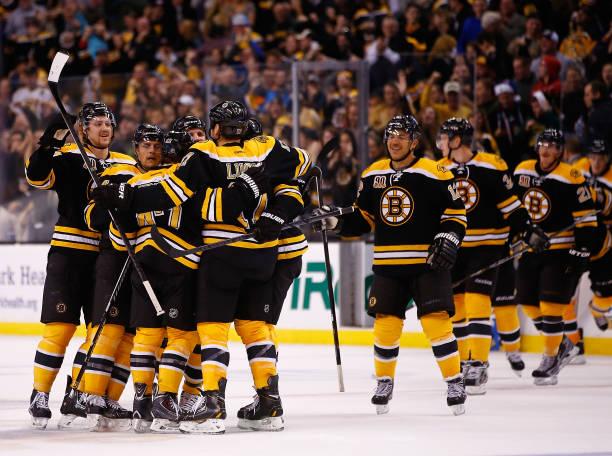 Columbus Blue Jackets v Boston Bruins