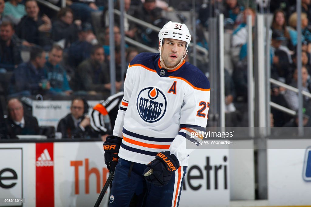 Edmonton Oilers v San Jose Sharks : News Photo