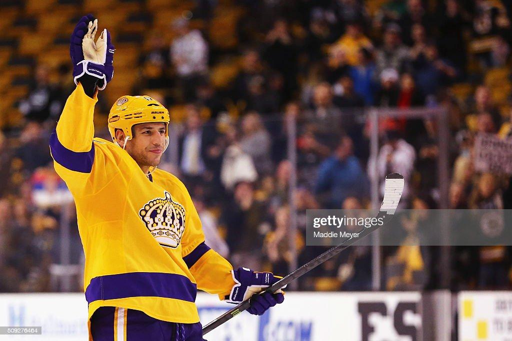 Los Angeles Kings v Boston Bruins : News Photo