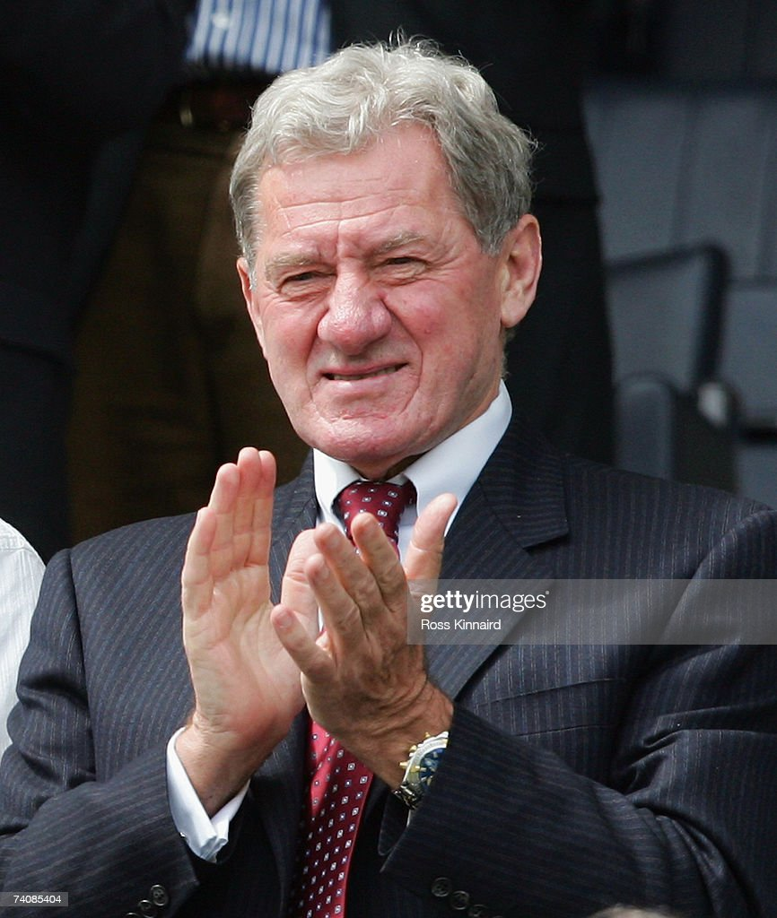 Milan Mandaric, Chairman of Leicester, applauds during the Coca-Cola Championship match between Leicester City and Wolverhampton Wanderers at the Walkers Stadium on May 6,2007 in Leicester, England.