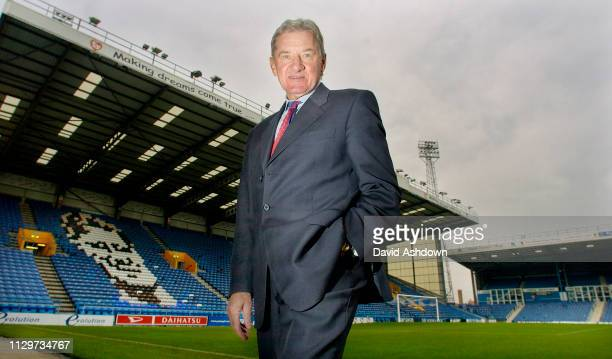 Milan Mandaric owner of Portsmouth FC at the ground 2nd Feb 2004.