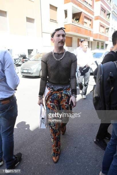 Milan Men's Fashion Week, Milano, Italy, on June 16 2019