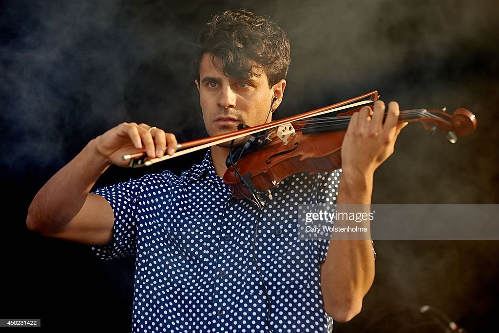 Milan Neil Amin-Smith of Clean Bandit performs on stage at ...