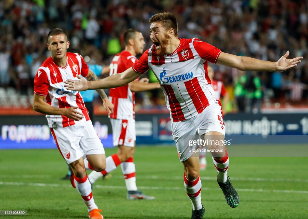 Crvena Zvezda v FC Helsinki ñ UEFA Champions League Second Qualifying round: 1st Leg : News Photo