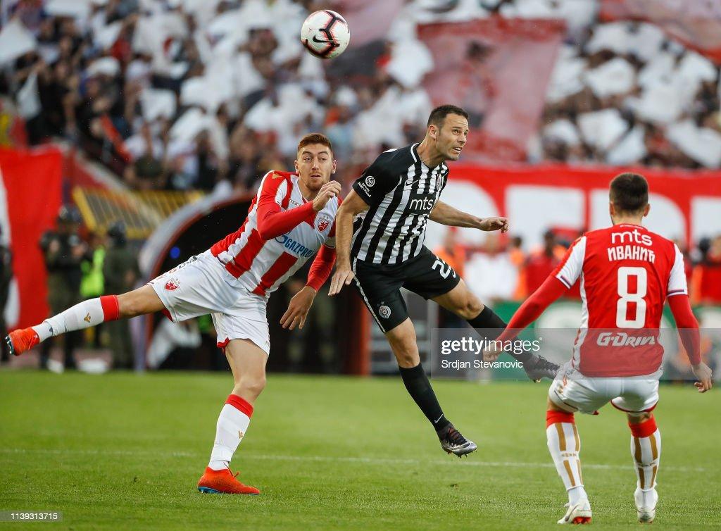 SRB: FK Crvena Zvezda v FK Partizan - Serbian Super League