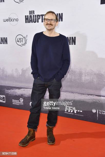 Milan Peschel attends the premiere of 'Der Hauptmann' at Kino International on March 8 2018 in Berlin Germany