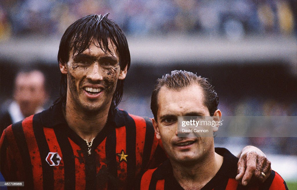 Mark Hateley and Ray Wilkins : News Photo