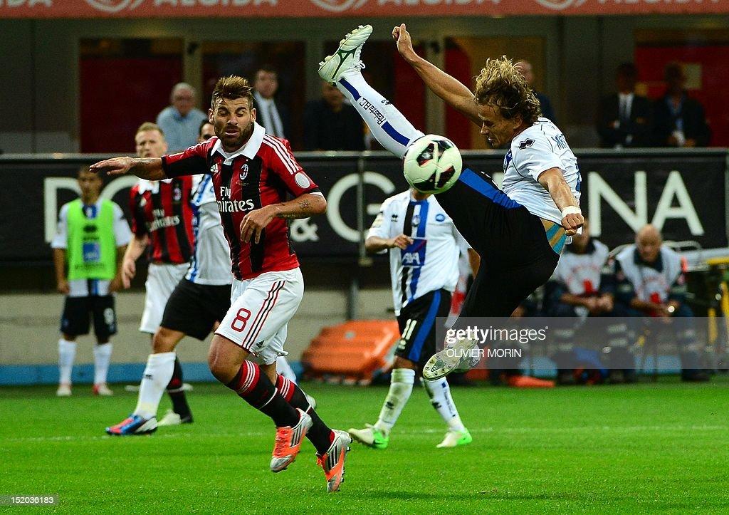 Image result for AC Milan vs Atalanta Italian Serie A