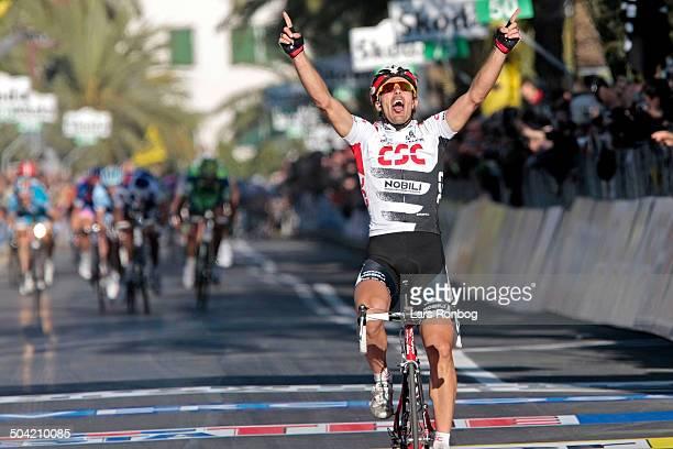 Milan - San Remo - Fabian Cancellara, Team CSC wins the stage. © Frontzonesport.dk