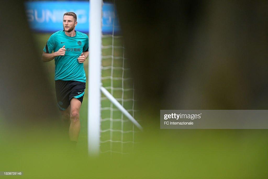 FC Internazionale Training Camp : News Photo