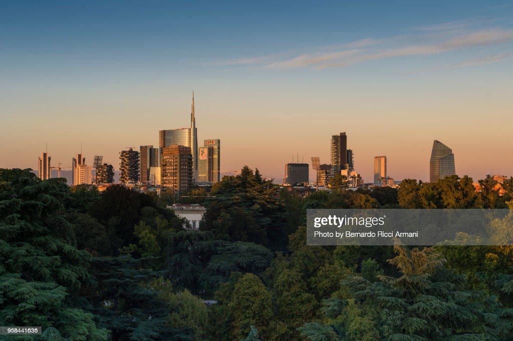 Milan Skyline : Stock-Foto