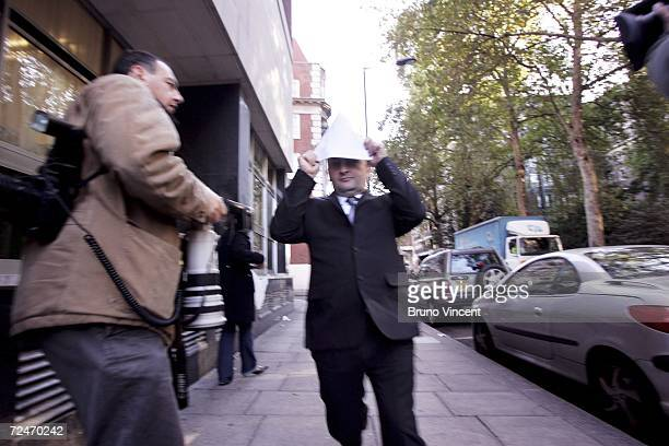 Milan Spanovic arrives at Westminster Magistrates Court on November 9, 2006 in London, England. Spanovic, who spent 15 years living in Carshalton in...