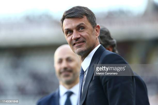 Milan Sporting Strategy Development Director Paolo Maldini looks on before the Serie A football match between Torino Fc and Ac Milan Torino Fc wins...
