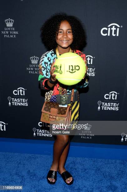 Milan Tyson attends the Citi Taste Of Tennis on August 22 2019 in New York City
