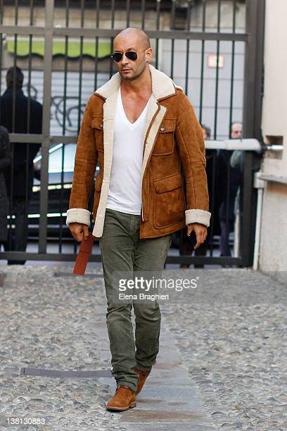 Milan Vukmirovic attends the Missoni fashion show on January 15 2012 in Milan Italy