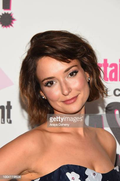 Milana Vayntrub attends Entertainment Weekly's ComicCon Bash held at FLOAT Hard Rock Hotel San Diego on at Float at Hard Rock Hotel San Diego on July...