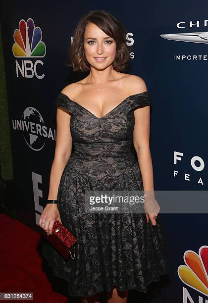 Milana Vayntrub attends NBCUniversal's 74th Annual Golden Globes After Party at The Beverly Hilton Hotel on January 8 2017 in Beverly Hills California