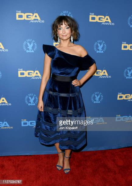 Milana Vayntrub attends the 71st Annual Directors Guild Of America Awards at The Ray Dolby Ballroom at Hollywood Highland Center on February 02 2019...
