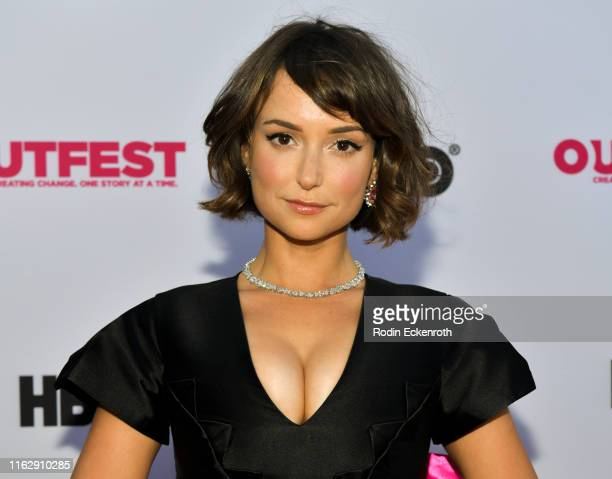 Milana Vayntrub attends the Outfest Los Angeles LGBTQ Film Festival Opening Night Gala premiere of Circus Of Books at Orpheum Theatre on July 18 2019...
