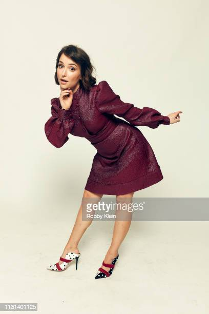 Milana Vayntrub of the film 'Mother's Little Helpers' pose for a portrait at the 2019 SXSW Film Festival Portrait Studio on March 9 2019 in Austin...