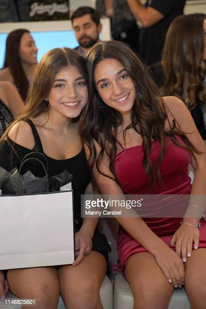 Milania Giudice and Antonia Gorga attend the Envy By Melissa Gorga Fashion Show on May 03, 2019 in Hawthorne, New Jersey.