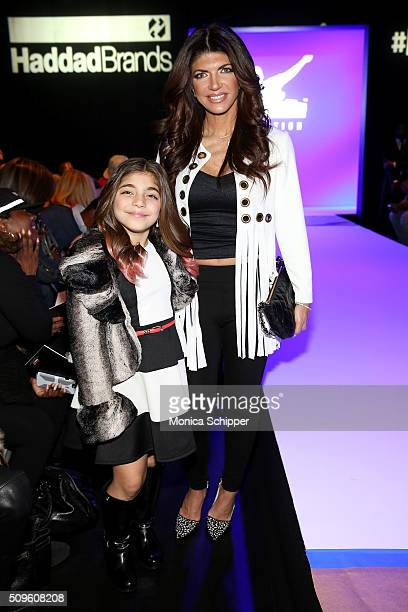Milania Giudice and Teresa Giudice attend the Rookie USA Presents Kids Rock! Fall 2016 fashion show during New York Fashion Week: The Shows at The...