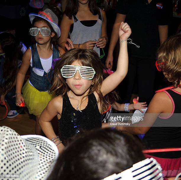 Milania Giudice attends Audriana and Gabriella Giudices' birthday party at Space Odyssey on October 9 2011 in Englewood New Jersey