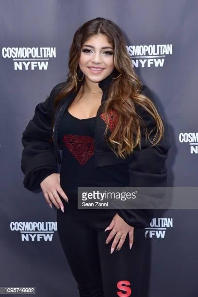 Milania Giudice attends Cosmopolitan NYFW on February 8, 2019 in New York City.