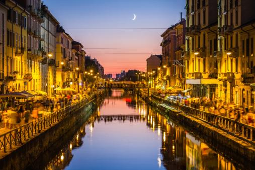 Milano, naviglio grande 176753969