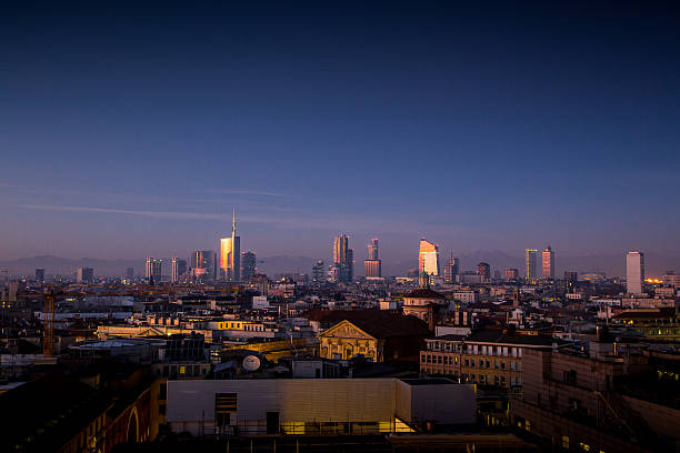 Milano Porta Nuova Skyline Wall Art